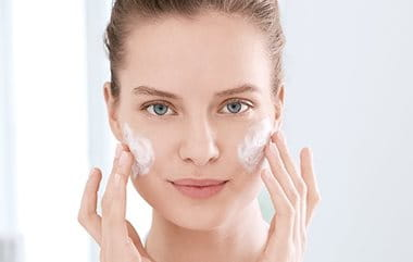 skin care and skin cleansing for acne