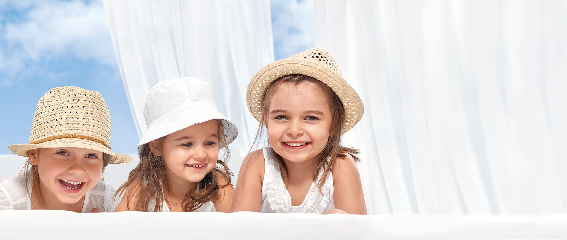 Sun protection for babies and children
