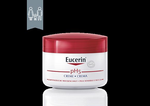 Dipendente Becks bastone  Eucerin pH5 Crema   Per la pelle sensibile di viso e corpo