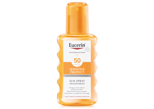eucerin Sun Spray Transparent FP 50